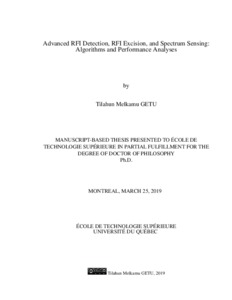 Advanced RFI detection, RFI excision, and spectrum sensing